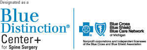 Blue Distinction Center+ logo