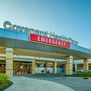 Covenant Emergency Center Entrance